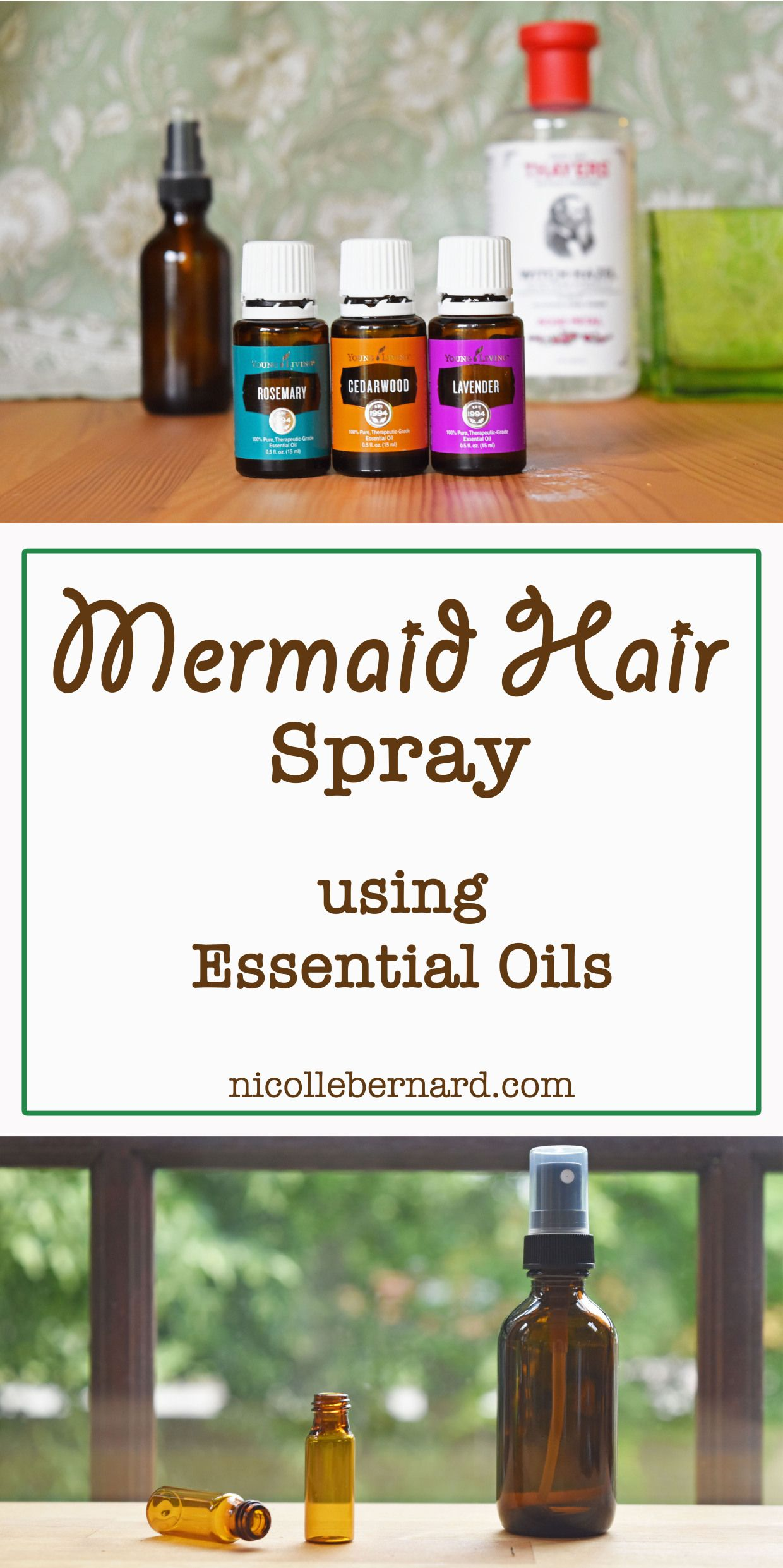 Mermaid Hair Spray Using Essential Oils.jpg Hair growth