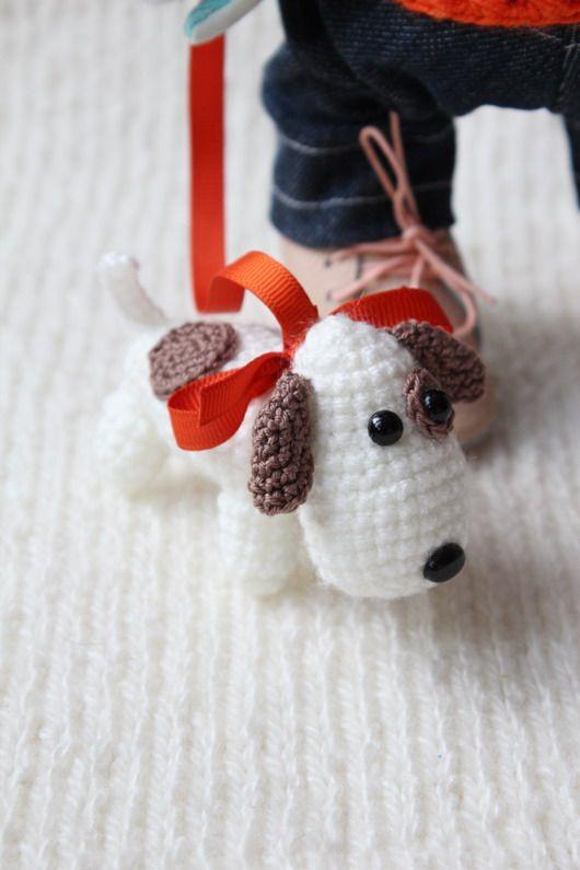 Un perro con una correa para un ratón (2) | ceci | Pinterest