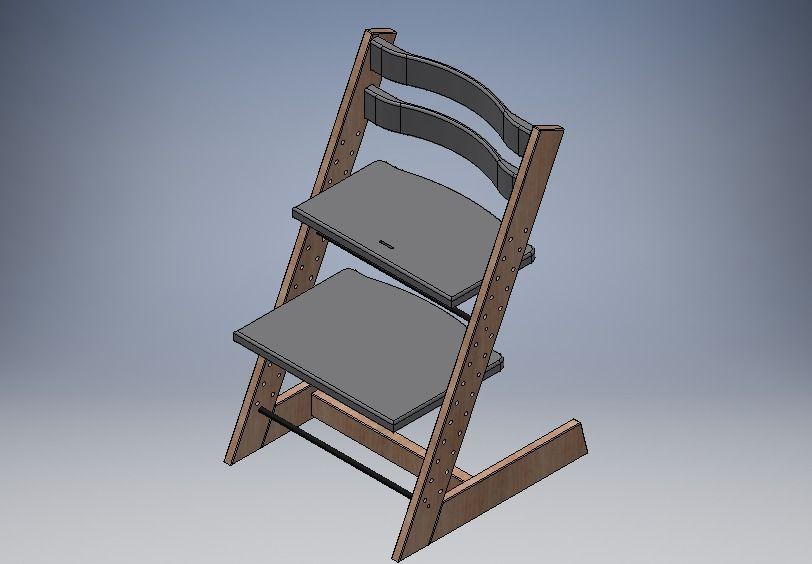 Sedia ergonomica in stile STOKKE, compatibile con accessori ...