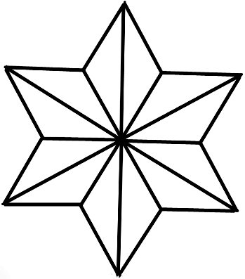 star of david archives how to draw step by step drawing tutorials rh pinterest com Star of David Template North Star Clip Art
