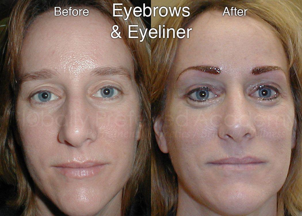 Cosmetic tattoo eyeliner permanent cosmetic training