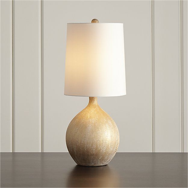 Vera table lamp crate and barrel