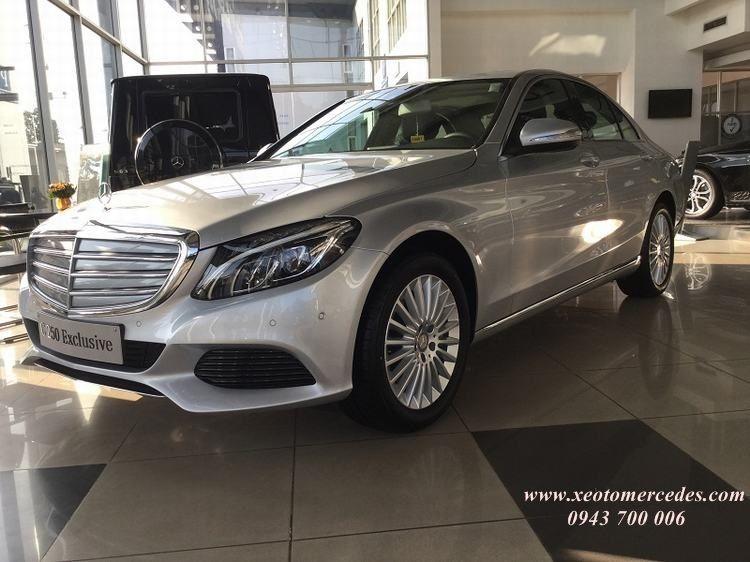 Bán Mercedes C 250 Exclusive màu bạc giao ngay
