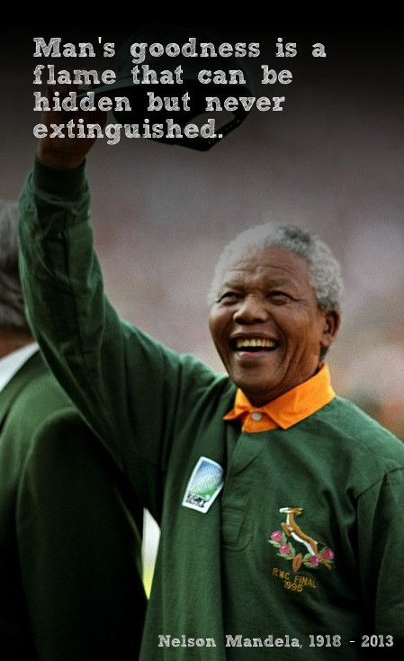 There Is No Such Thing As Part Freedom Nelson Mandela Nelson Mandela Mandela Rugby World Cup