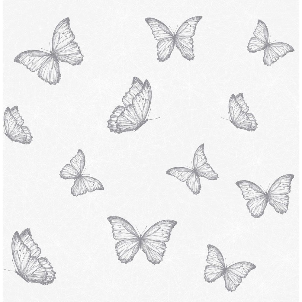 Wallpaper Butterfly Grey Wallpaper Wallpaper Ideas And Big Girl