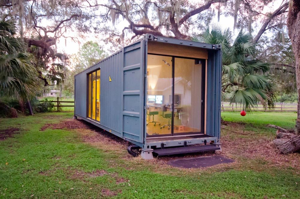 Hab Shipping Container Tiny Home Container House Design House