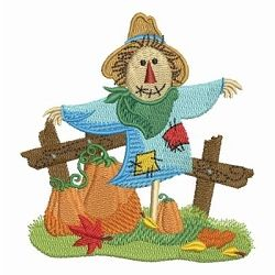 Scarecrow Scene 1 - 4x4 | What's New | Machine Embroidery Designs | SWAKembroidery.com Ace Points Embroidery