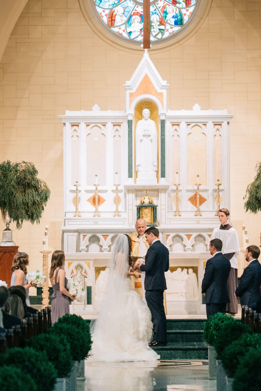 Traditional Catholic Wedding Ceremony At St Peter Chanel Church Catholic Wedding Ceremony Catholic Wedding Catholic Wedding Traditions