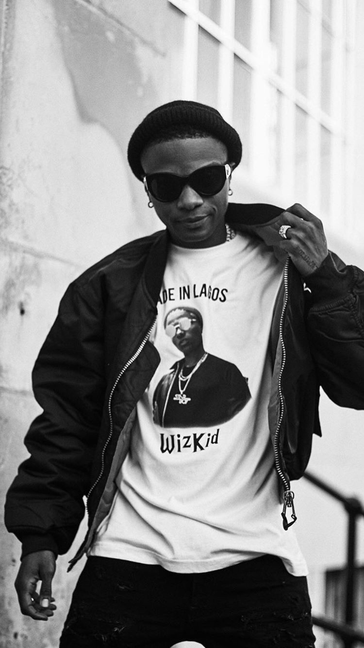 Ayodeji Ibrahim Balogun Born 16 July 1990 Known Professionally As Wizkid Sometimes Stylized As Wi Music Album Cover Black And White Aesthetic Urban Outfits
