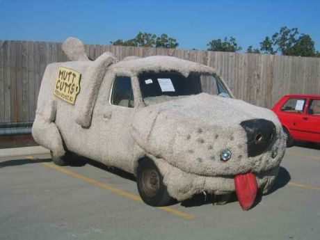 The Dumb And Dumber Van Is Now For Sale Dont Miss Your Chance - Famous movie cars beautifully illustrated