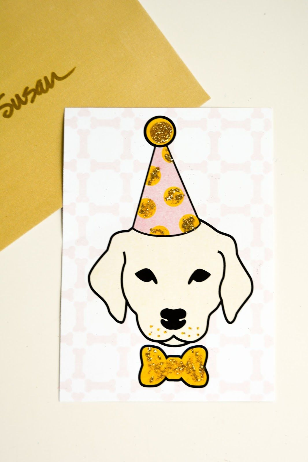Aesthetic Nest: Printables: Pink and Gold Puppy Party Birthday Papers