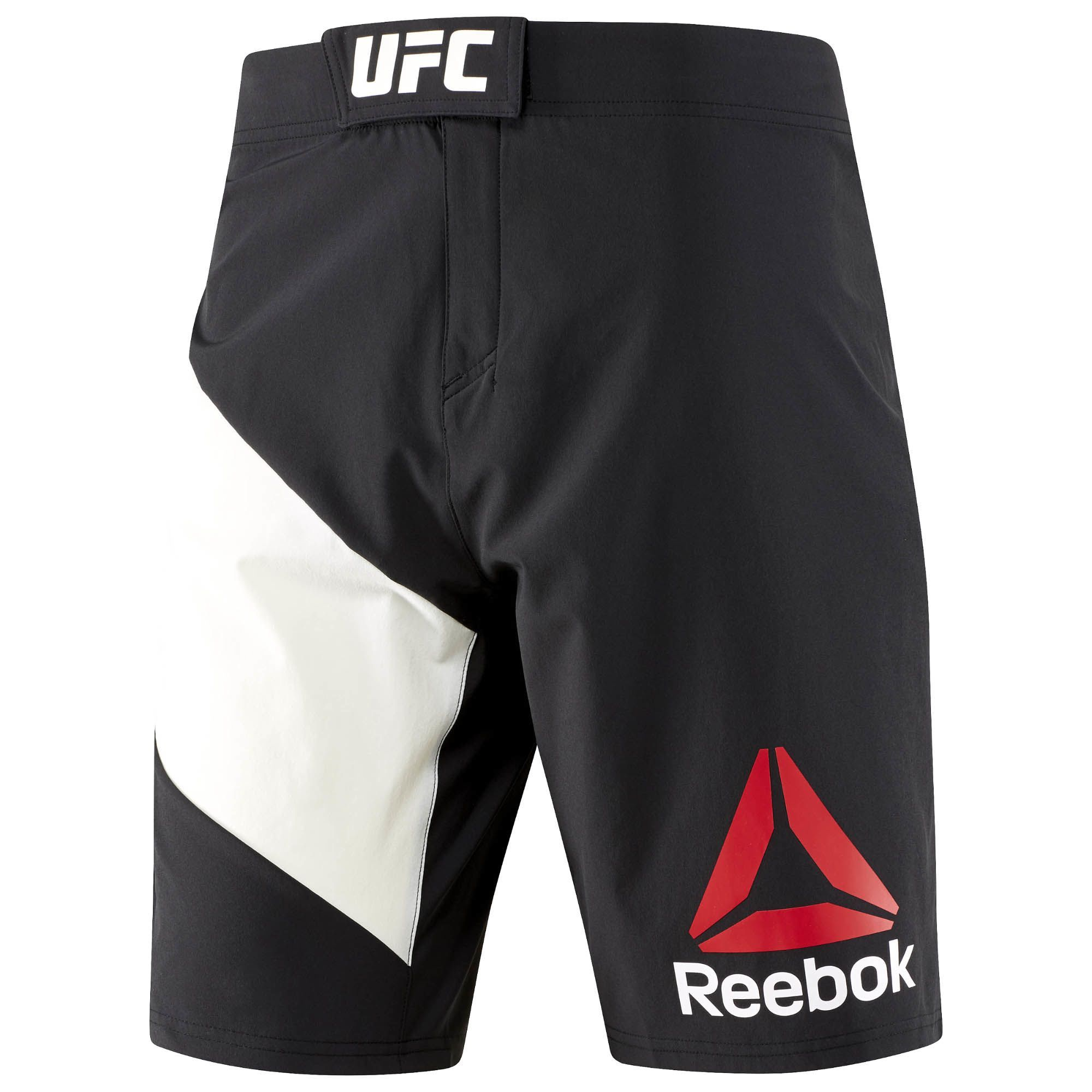 Reebok Ufc Fight Kit Octagon Short Mens Workout Clothes Ufc Clothing Mens Shorts Outfits