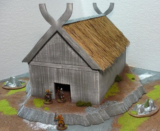 Making a Viking Long House for $4 (USD) - Page1 | Craft Ideas ...