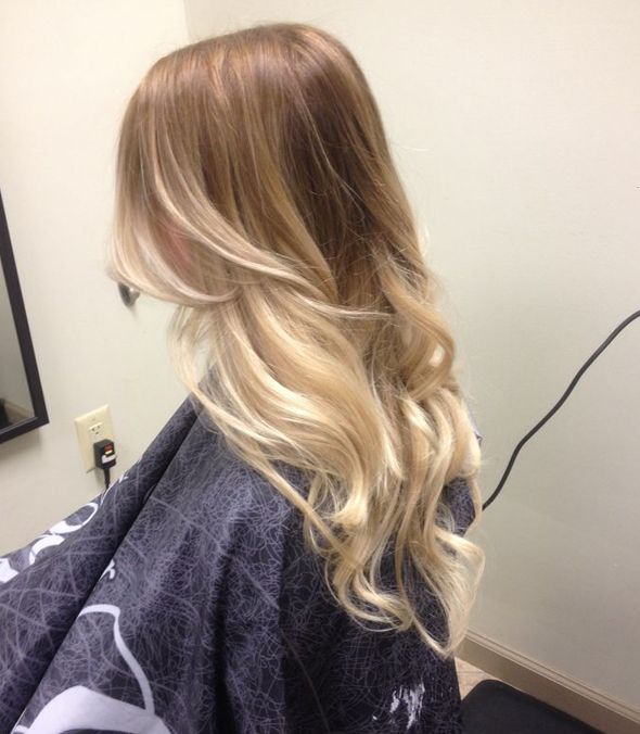 Поэтапное окрашивание длинных волос эссекс