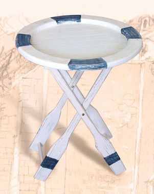 Photo of Wooden Ring Buoy Oars Table
