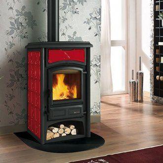 kaminofen la nordica gisella ausf hrung in bordeaux kaminofen von la nordica pinterest. Black Bedroom Furniture Sets. Home Design Ideas