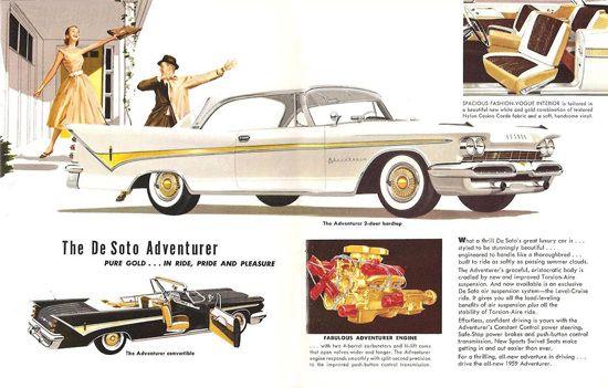 DeSoto Adventurer 2D HT Convertible 1959