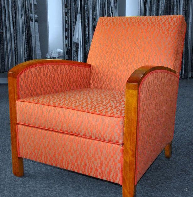 fauteuil art d co tissu ameublement souk leli vre paris fauteuils tissus petits meubles. Black Bedroom Furniture Sets. Home Design Ideas