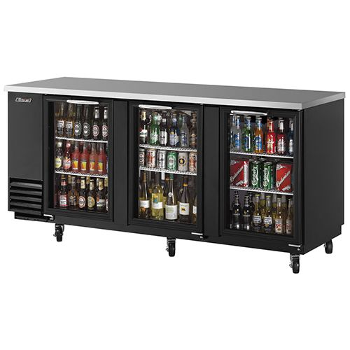 Turbo Air TBB4SG Bar refrigerator, Glass door