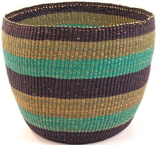 Ghana Bolga Storage Basket by Baskets of Africa, http://www.amazon.com/dp/B00BEKCO0Y/ref=cm_sw_r_pi_dp_OuMDrb01BX68A