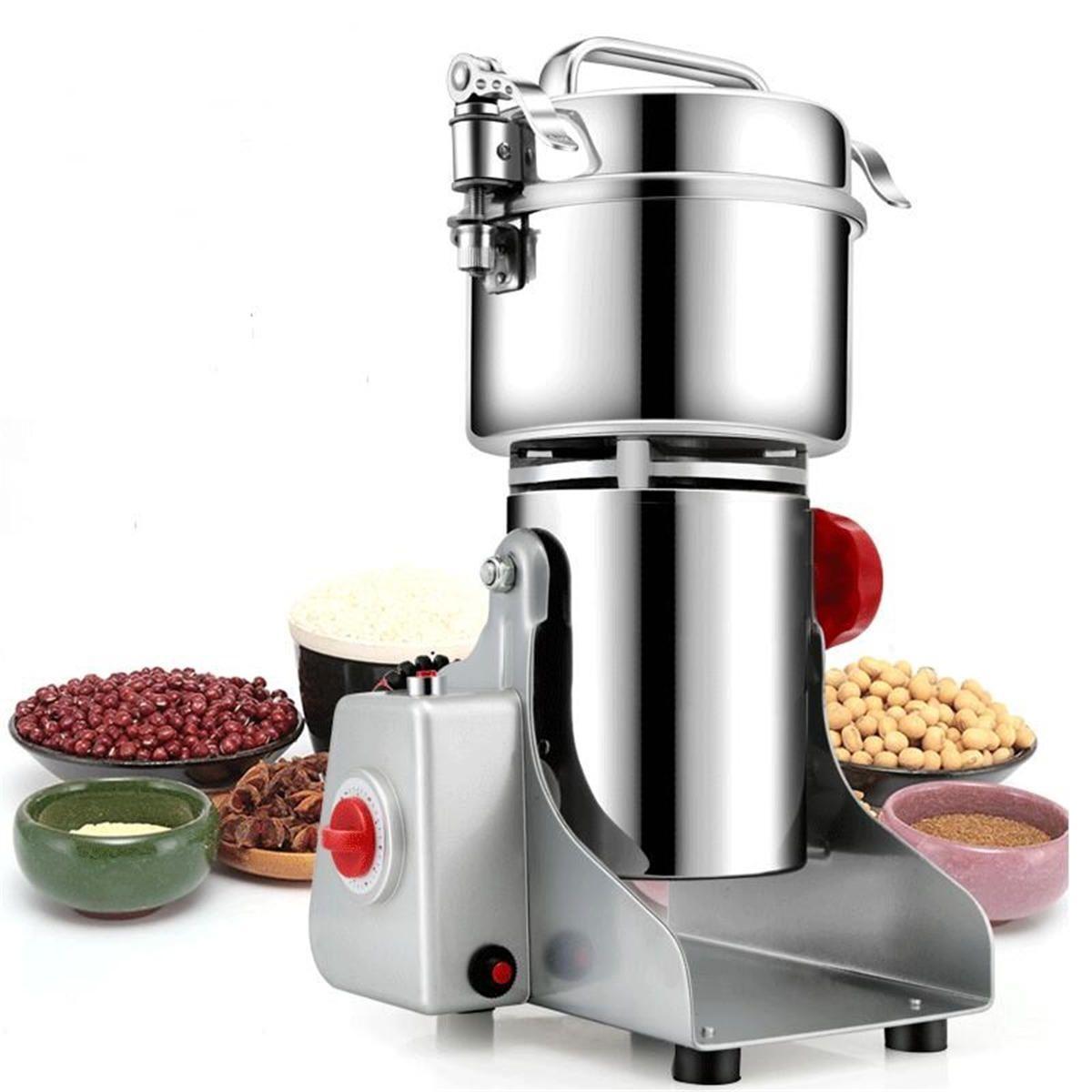 700g electric grains spices hebals cereal dry food grinder