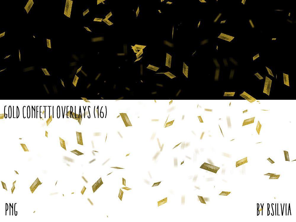 Gold Confetti Overlays Gold Foil Confetti Photoshop Overlays Etsy Photoshop Overlays Digital Backdrops Photo Layers