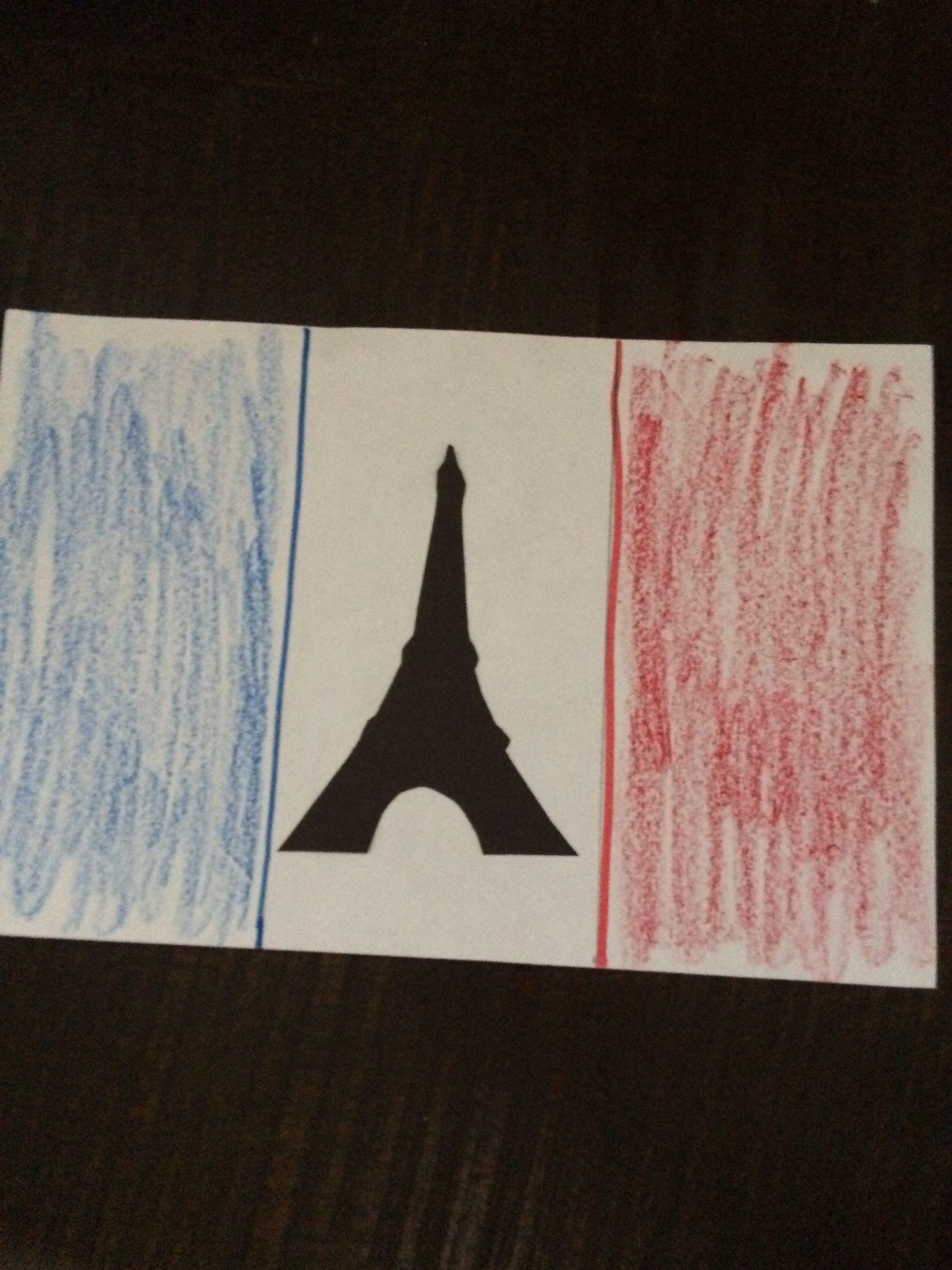 France Flag Craft