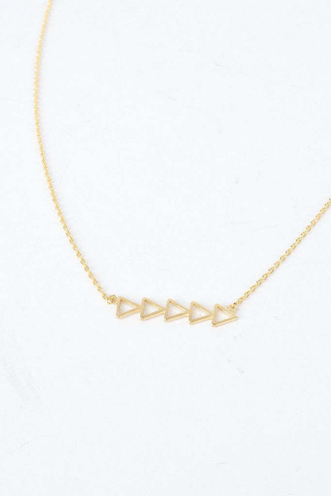 Cut Out Dainty Necklace