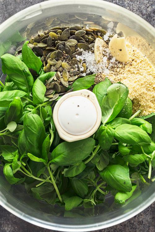 Vegan Pumpkin Seed Pesto — Cocoon Cooks