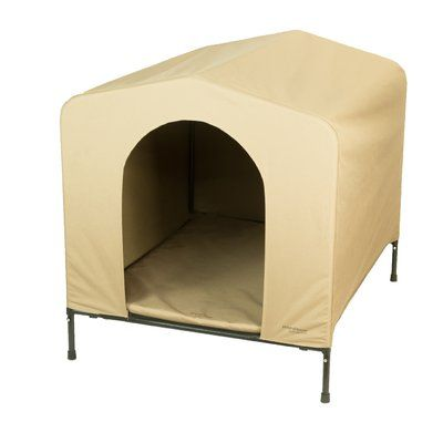 Heininger Portablepet Fabric And Steel Collapsible Yard Kennel Dog House Size Pet Kennels Dog House Large Dog Crate