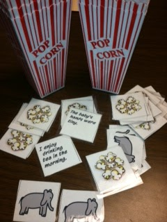 Popcorn Synonyms Speech, language, Speech activities