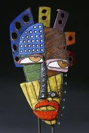 Resultado de imagen para cuadros mascaras africanas