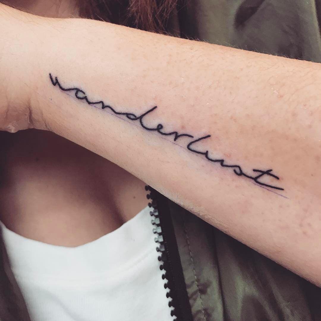 Wanderlust tattoo | Tattoos | Pinterest | Wanderlust ...