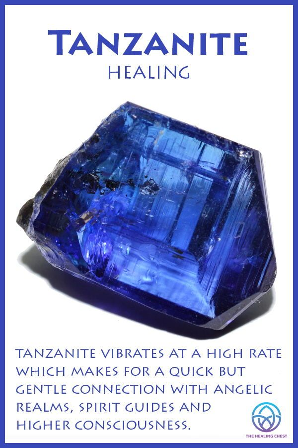 Tanzanite Meaning #crystalmeanings