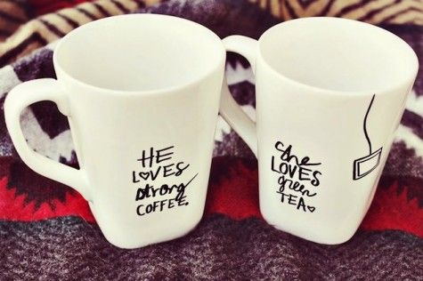 #coffee y green #tea