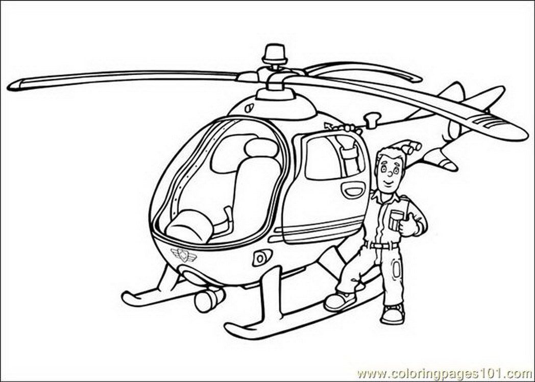 Coloring Pages Fireman Sam Others Free Printable Pic 642946