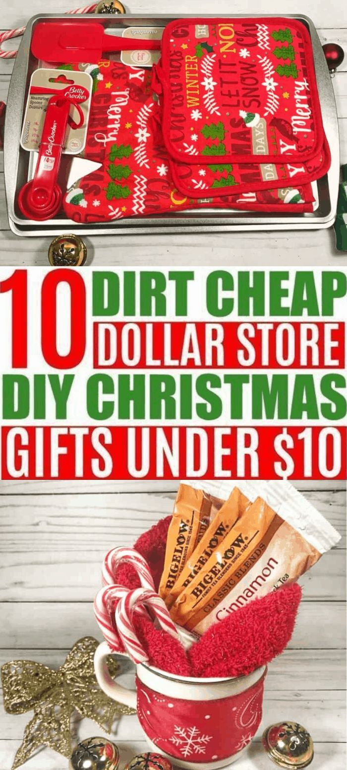 10 DIY Cheap Christmas Gift Ideas From the Dollar Store Under $10 - Savvy Honey