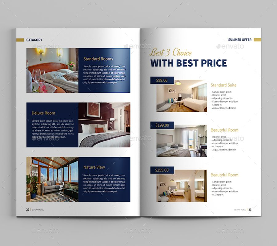 Luxury Hotel Brochure #Luxury, #Hotel, #Brochure | Hotel ...