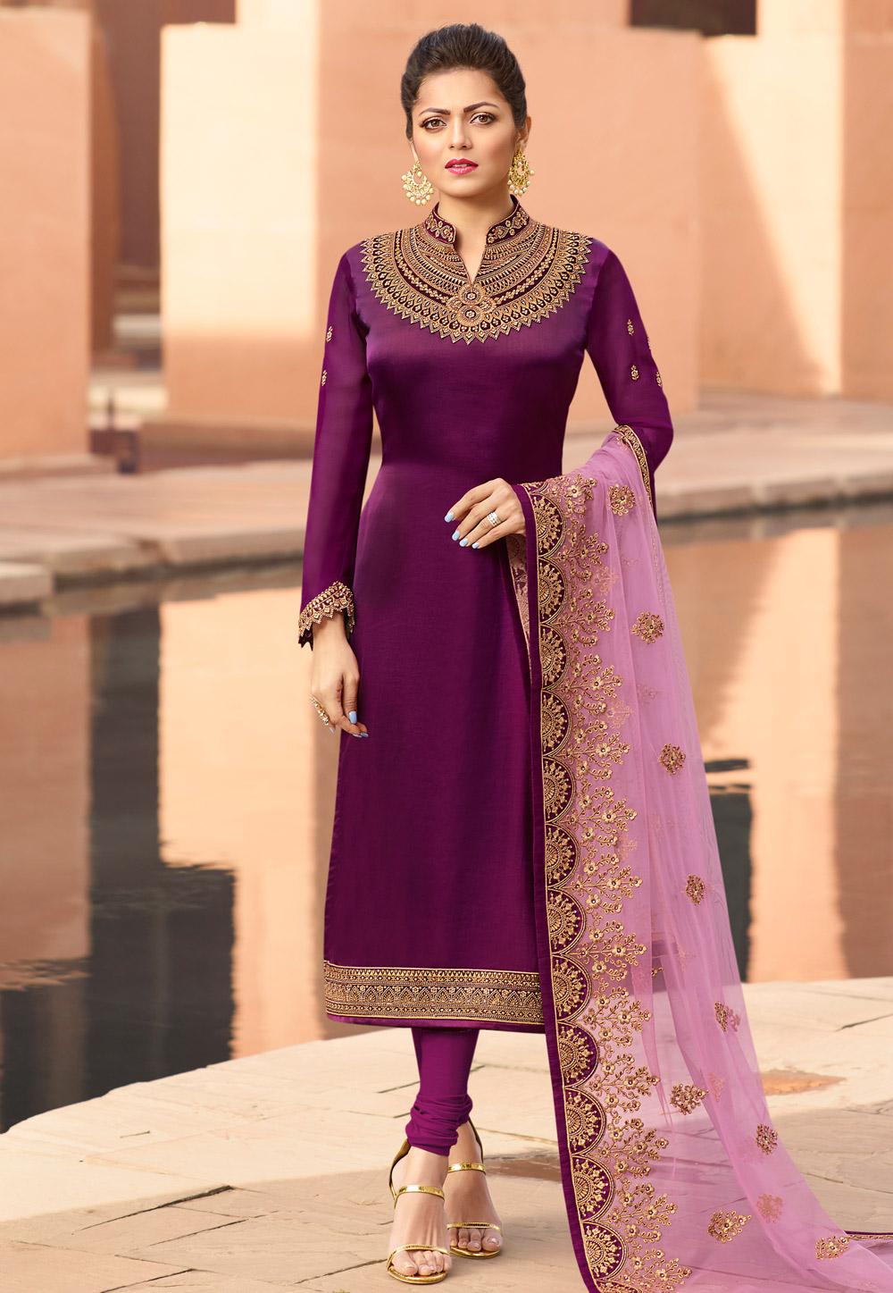 Details about  /SALWAR INDIAN PAKISTANI BOLLYWOOD DESIGNER SALWAR SUIT PART WEAR ETHICAL WOMEN