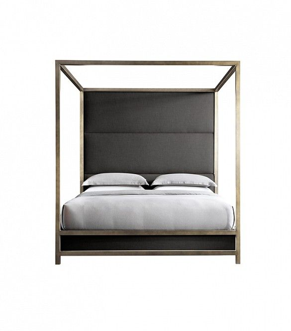 Modern 4 Poster Bed restoration hardware unveils a major new décor brand | modern