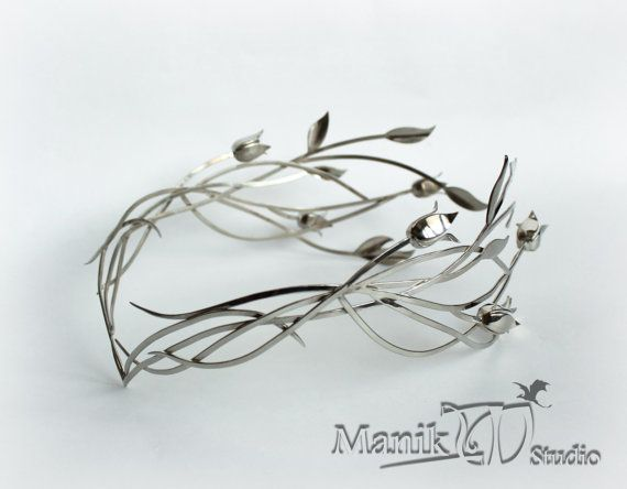 handicaps structurels beau taille 7 Galadriel Elven diadem | Jewelry Diadem | Lord of the Rings ...