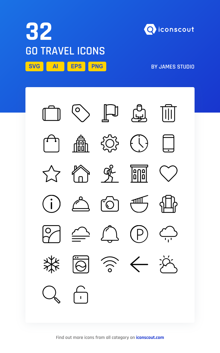 Download Download Go Travel Icon pack - Available in SVG, PNG, EPS ...
