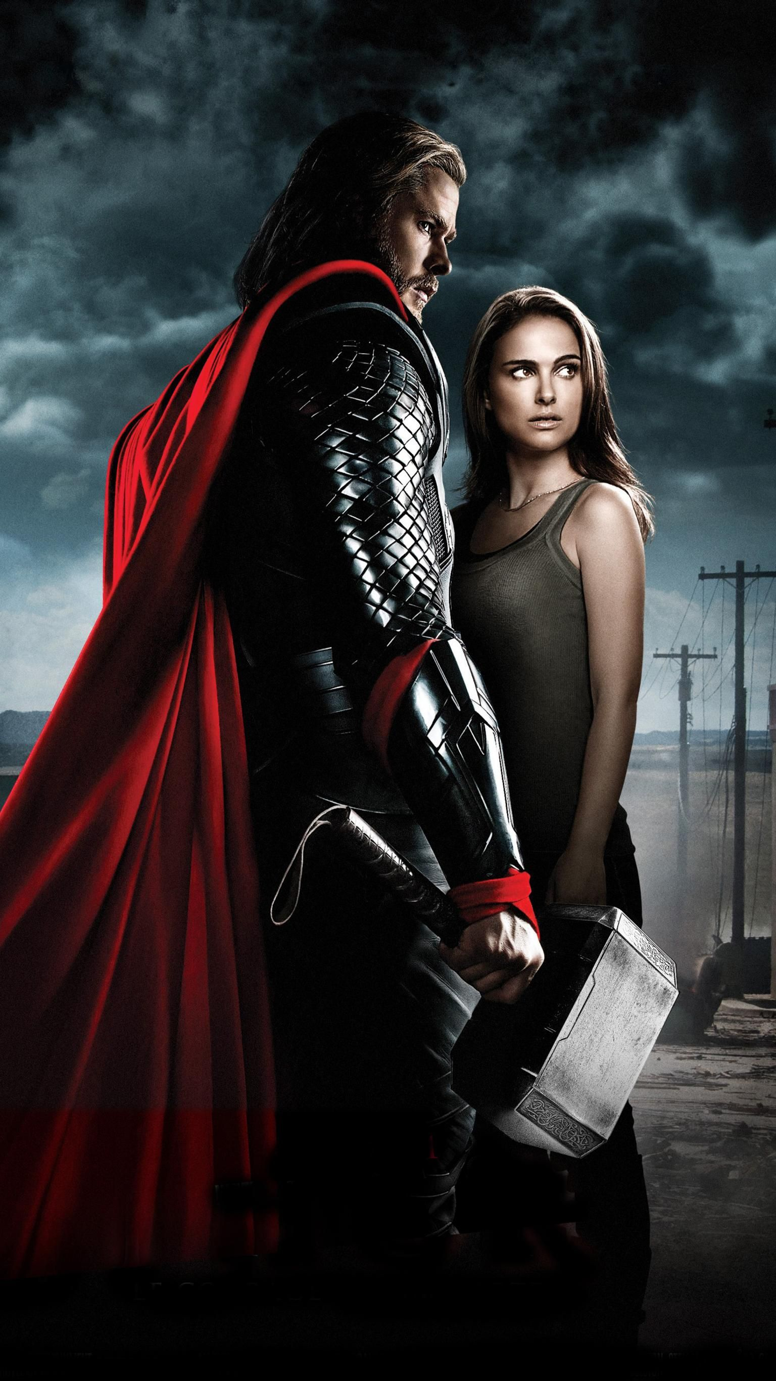 Thor (2011) Phone Wallpaper Плакаты с фильмами, Хорошие