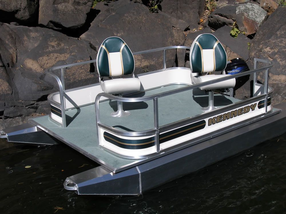 Pontoon small pontoons outboard mini toons mini for Mini fishing boats