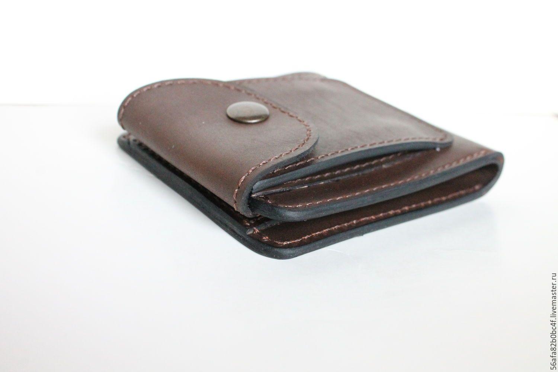 4eda76dd531c Купить Кожаный кошелек - кошелек, кошелек из кожи, кошелек ручной работы,  кошелек мужской