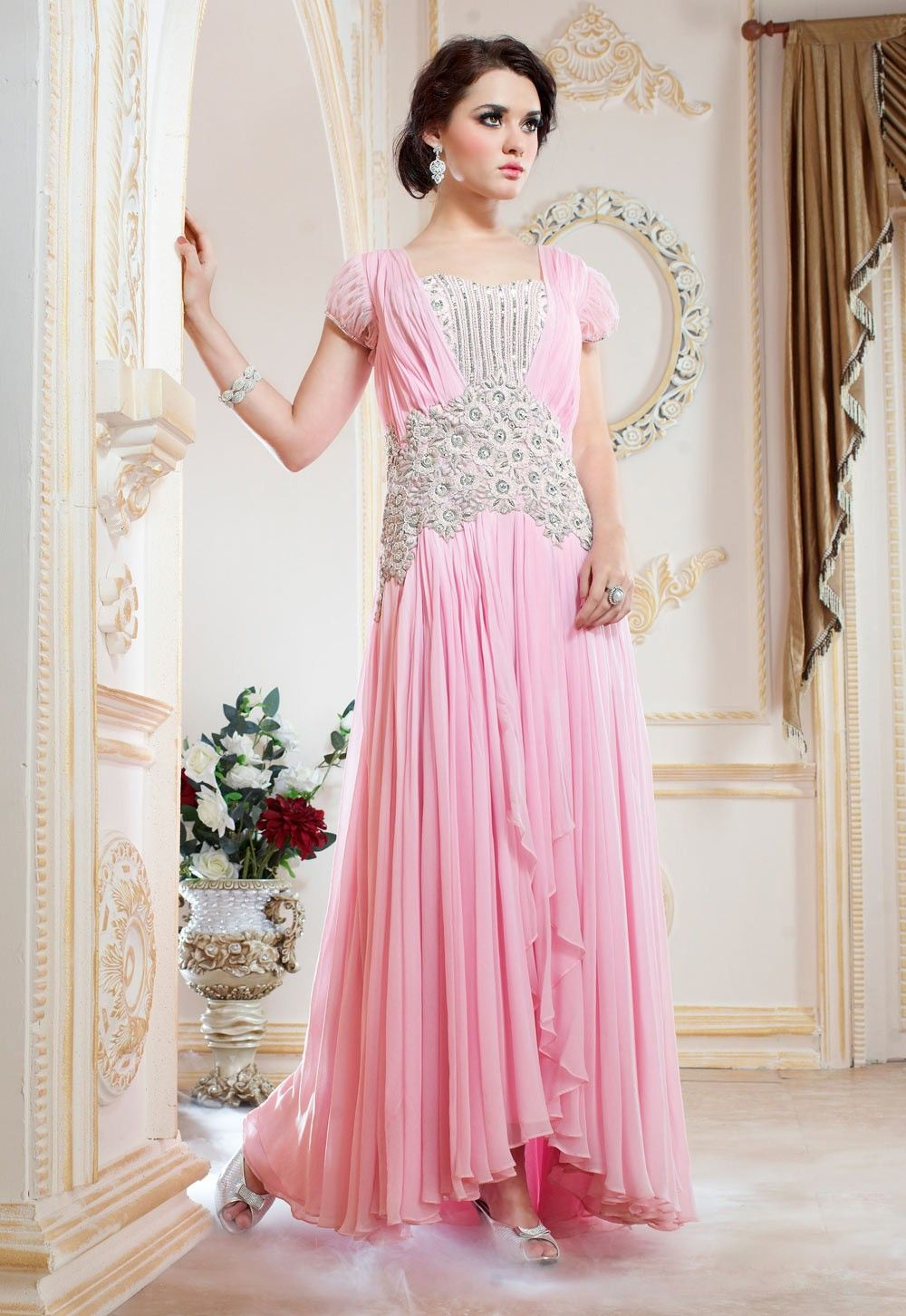 Indian Fashion Palazzo Jumpsuit | Buy designer Indian party gowns ...