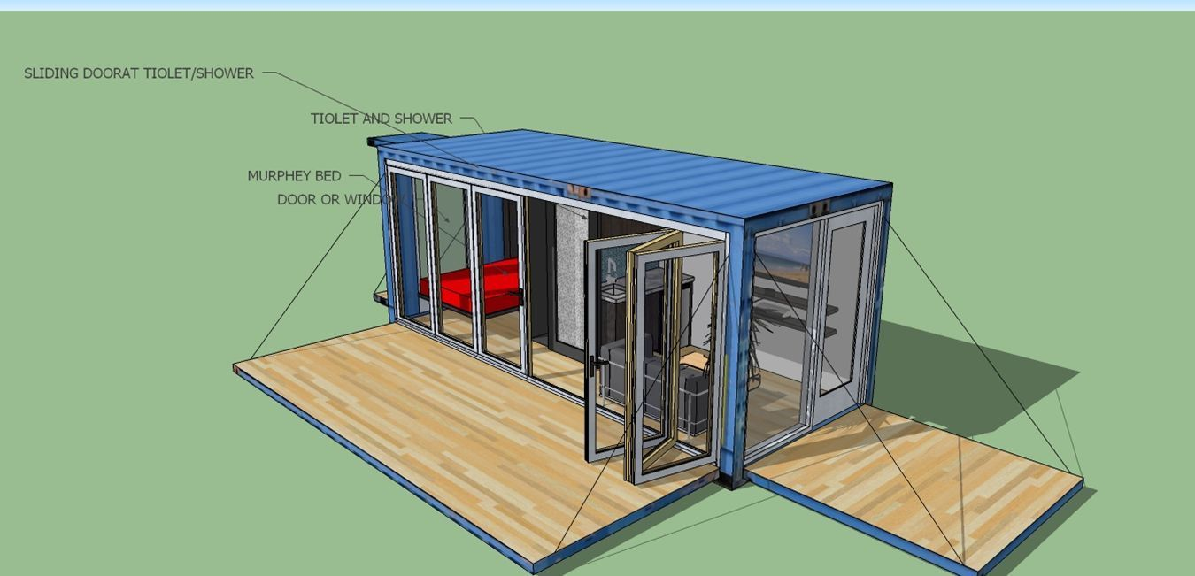 Details about 20' FT Transportable Shipping Container Home