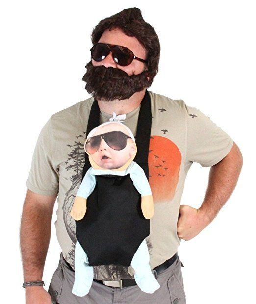 The Hangover Alan Deluxe Kostum Set Erwachsene Small Karneval Kostum