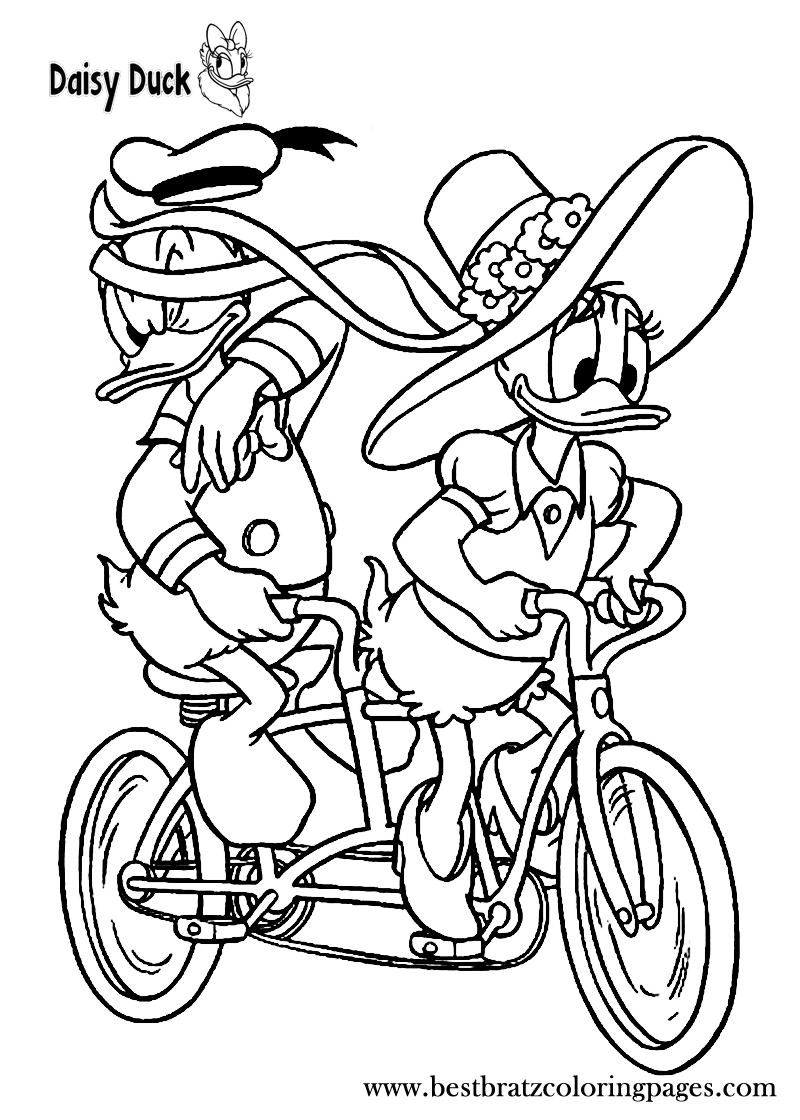 Free Printable Daisy Duck Coloring Pages For Kids Disney Coloring Pages Coloring Books Coloring Pages