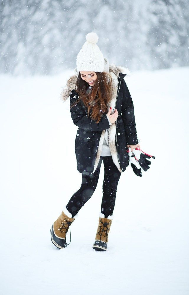 27 Cute Outfits You Can Actually Wear in the Snow